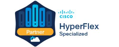 Oreta advanced hyperconverged solutions with HyperFlex Specialisation.