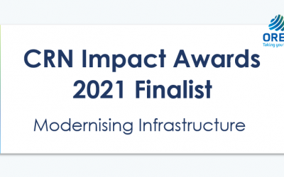 Oreta Finalist in 2021 CRN Impact Awards